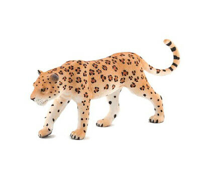 Mojo Fun 387018 Leopard - Realistic Wild Animal Toy Figurine Replica - NIP