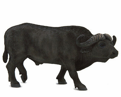 Mojo Fun 387111 African Cape Buffalo Wild Animal Model Toy Replica - NIP