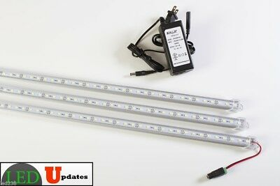 3x 20 inch linked U5630 LED white lights for 5ft 6ft showcase with UL power U.S