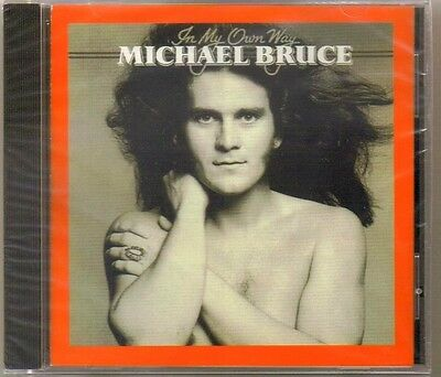 MICHAEL BRUCE - In My Own Way (Rare Original/Sealed CD) - ALICE COOPER GUITARIST