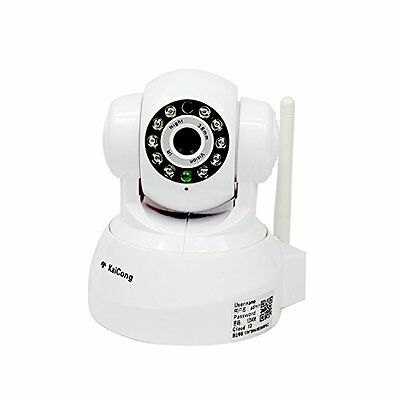 KaiCong Sip1601w/480P Wireless IP Video Camera Mobile Home Office Baby Monitor