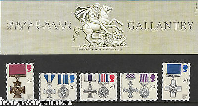 Great Britain Stamp Pack No. 211: 1990 Gallantry UK121211