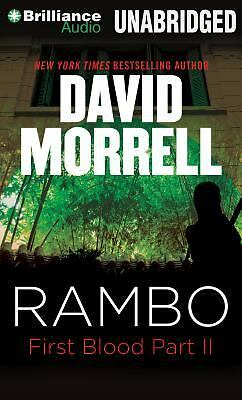 Rambo : First Blood Part II by David Morrell (2014, CD, Unabridged)