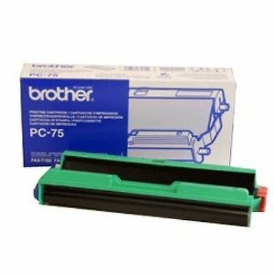Brother Ribbon Cassette Cartridge (Yield 144 Pages) Black