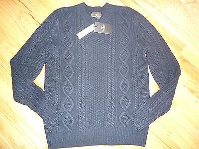 +++nwt Daniel Bishop Thick Cashmere Sweater sz M+++