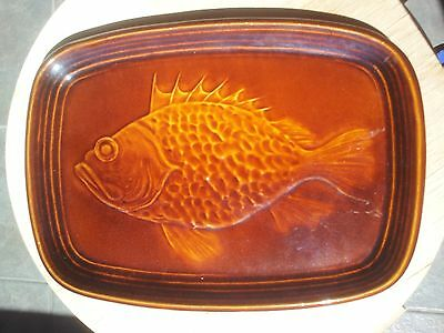 Vintage St Clement Majolica Fish Plate France