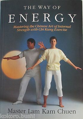 The Way of Energy - Chinese - Chi Kung 1991 1st edition Illustrated - Great book