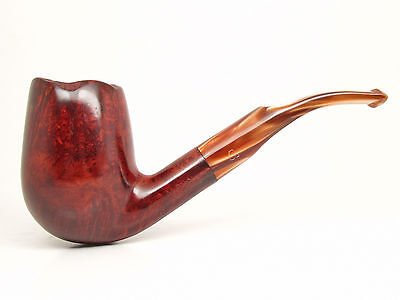 ALPHA * Hand Made * STRAIGHT GRAINED Freehand Estate Pipe GORGEOUS - w72