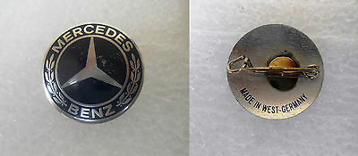 MERCEDES BENZ  ( Made in West Germany ) - old pin badge car automobile