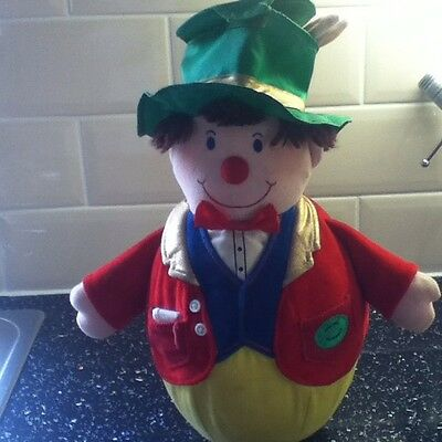 Boots Vintage Retro Mr Wobble Wobbly Man From Noddy And Gollie. Doorstop Toy