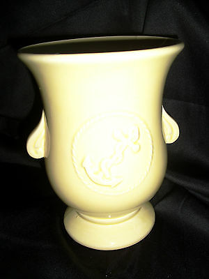 RRP Roseville Anchor Vase Yellow Number 403