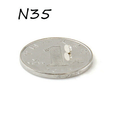 ZLCT150 200PCS Round Neodymium Industrial Magnets Rare Earth Neo3x1mm N35 NEW