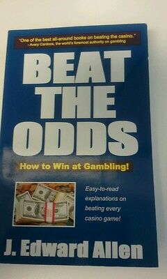BEAT THE ODDS HOW TO WIN AT GAMBLING  NEW JEDWARD ALLEN 2003 CARDOZA  PAPERBACK