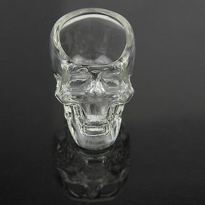 Vodka Whiskey Skull Head Crystal Glass Shot Glass Cup Drinking Ware Home Bar