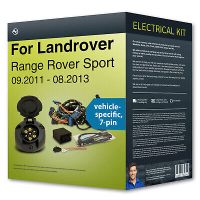 LAND ROVER RANGE Rover, Sport & Discovery 7 Pin Towbar Wiring ... on land rover timing marks, land cruiser wiring harness, land rover ballast resistor, land rover relay, land rover antenna, land rover speed sensor, land rover power steering hose, land rover shifter, land rover front end, land rover transmission cooler, land rover cables, land rover winch mount, land rover switch, land rover door lock actuator, land rover stereo wiring diagram, land rover instrument cluster, land rover ecm, land rover spark plugs, land rover air filter, land rover vacuum reservoir,