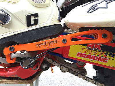 CrossCross Passenger Foot pegs rests Fits KTM exc sx xc sxc mxc sms smr smc ...