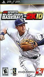Major League Baseball 2K10 10 2010 UMD PSP SONY PLAYSTATION PORTABLE - COMPLETE