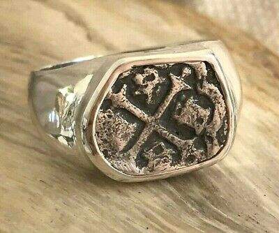 ATOCHA Coin Ring 925 Sterling Silver Sunken Treasure Shipwreck Jewelry