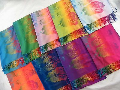 US SELLER-10pcs wholesale pashmina scarves shawls winter warm wraps