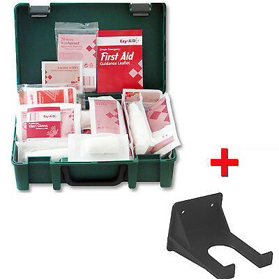 1-10 Person Premium HSE First Aid Workplace Kit + FREE Wall Bracket - CE Marked