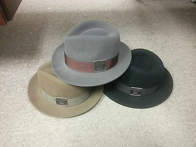 KANGOL HERITAGE COLLECTION Linotype Hiro Trilby-3 Colors-M-NWT ... 94123d098311
