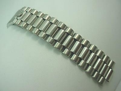 Mens Vintage Kreisler Watch Band Hidden Deployment Center Link Attachment 8.1mm