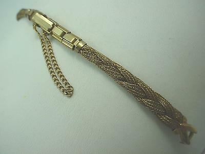 Kreisler Ladies Watch Band Vintage Gold Filled Butterfly Clasp C Ring New Old St