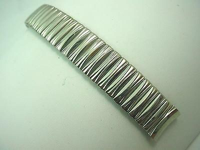 "Kreisler 16mm 5/8"" Mens Vintage Stainless Steel Full Expansion Watch Band NOS"