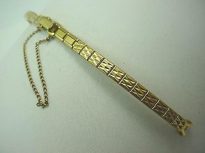Watch Band Butterfly Clasp Gold Filled C Ring Ladies Vintage Speidel New Old Stk