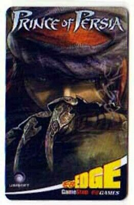EB Games PRINCE OF PERSIA collectible gift card
