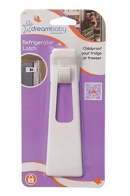 New Dreambaby White Refridgerator Fridge Freezer Latch Baby Safety Lock Dream