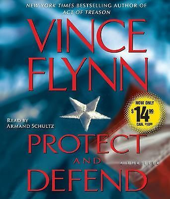 Protect and Defend by Vince Flynn (2009, CD, Abridged)