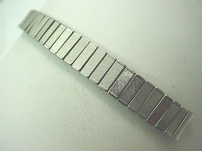 Stainless Steel Overhand Expansion 11mm Ladies Vintage Watch Band New Old Stock