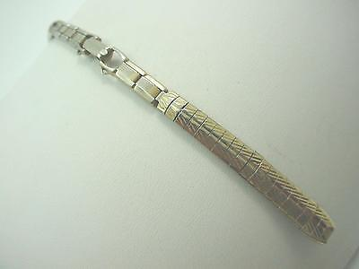 Brite Ladies Watch Band Vintage C Ring Gold Tone Butterfly Clasp Pre-Owned