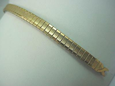 Kreisler Ladies Vintage Watch Band Rolled Gold C Ring Straight Expansion NOS