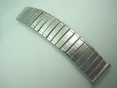 "Vintage Mark 7 Mens Watch Band Stainless Steel Full Expansion 17.5mm 11/16"" NOS"