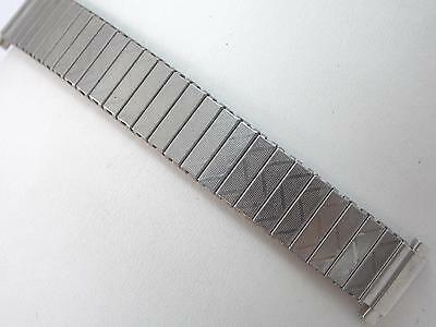 "Ladies Vintage Watch Band 13mm-17mm 1/2""-5/8"" Stainless Steel Straight Expansion"