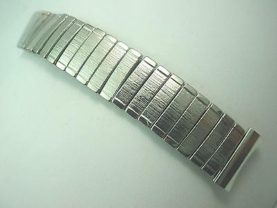 "100% Expansion Mens Vintage Mark 7 Watch Band 17.5mm 11/16"" Stainless Steel NOS"