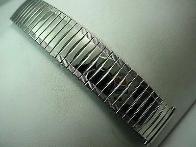 "Vintage JB Champion Mens Watch Band Expansion 17.5mm-21mm 11/16""-3/4"" Stainless"