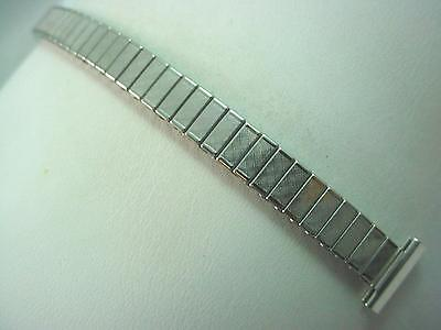 "Ladies Vintage JB Champion Watch Band 13mm 1/2"" Straight Expansion Stainless NOS • £22.50"