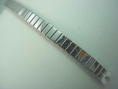 C Ring Straight Expansion Stainless Steel Ladies Vintage Watch Band Speidel NOS