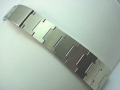 Vintage Mido Mens Watch Band Deployment Clasp Stainless Steel 23mm New Old Stock