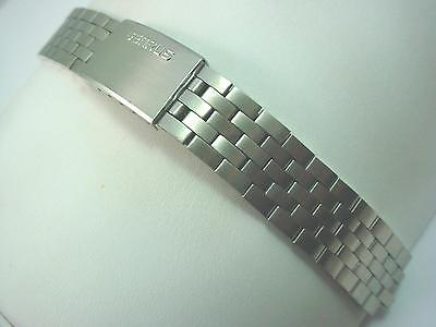 Watch Band Benrus Vintage Mens Center Link Attachment 9mm Deployment Stainless