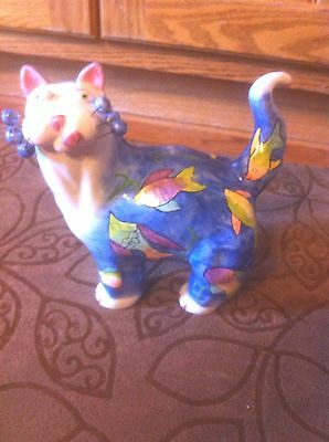 Amy Lacombe Whimsical Cat 2002 Annaco Creations