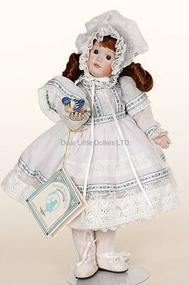 Patina Collectible Porcelain Jointed doll by Gorham RARE!