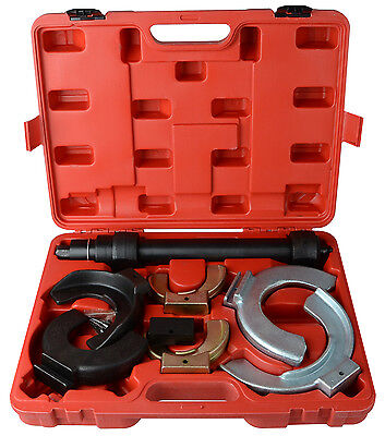 Fork Strut Coil Clamp Spring Compressor Macpherson Tool Set Kit Auto Garage JAW