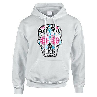 Sugar Skull Childrens Hoodies, Hoody Hooded Sweater Candy, Day Of The Dead TS930