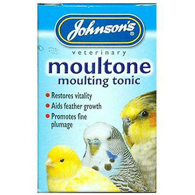 Johnsons Moultone Moulting Tonic For All Cage Birds