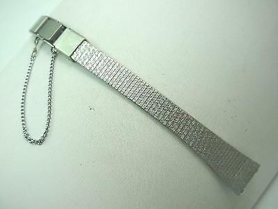 """Butterfly Clasp Stainless Watch Band Ladies Vintage Gilden 10mm 3/8"""" New Old St"""
