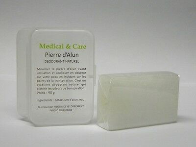 PIERRE D'ALUN Rectangulaire 90gr Potassium MEDICAL & CARE
